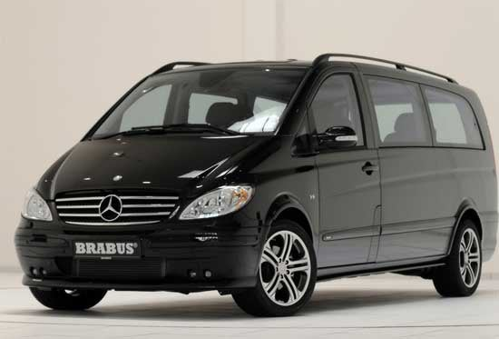 Brabus Mercedes-Benz Viano Lounge, the Incredibly Rich Techie's Van of Choice