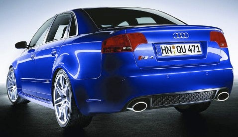 Report: Next Audi RS4 Coming in 2008