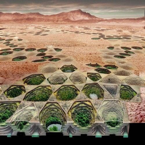 The Desert City Inspired by Dune