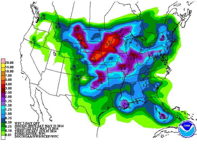 Heavy Rain Brings Texas Drought Relief, But Just a Drop in the Bucket