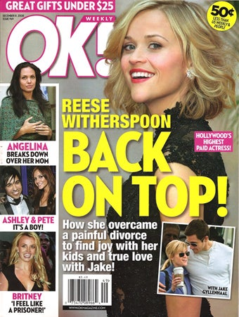 This Week In Tabloids: Jolie's Joyous, Heidi's Hitched, Britney's Bulimic