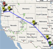 Track your packages with Google Maps