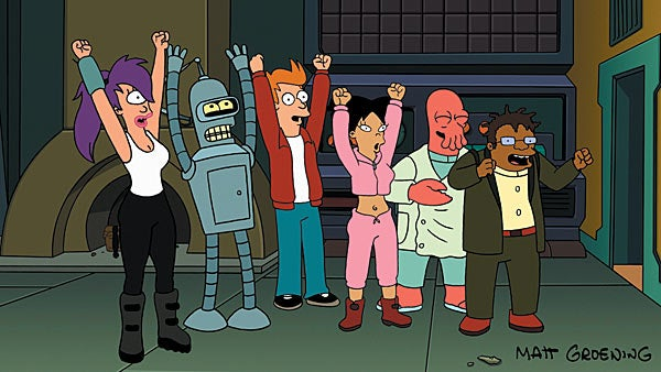 Futurama Returning with Full Original Cast After All