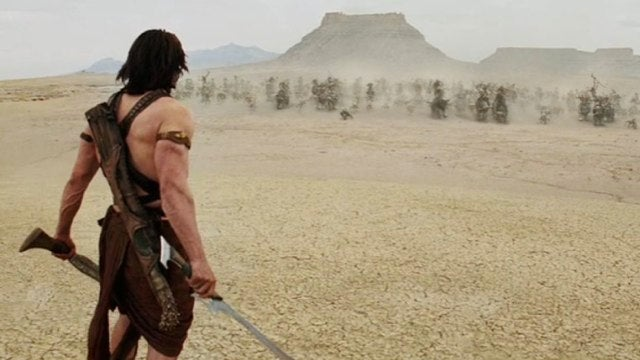 Why Jon Favreau is glad he's not directing John Carter