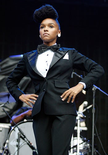 Janelle Monae turns rhythm and blues into science fiction