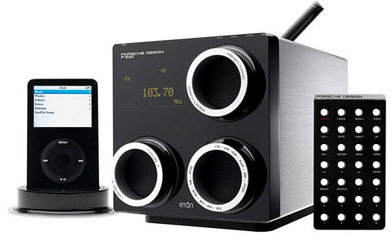 If a Porsche Shacked Up With an iPod Dock, You'd Get the Eton P'9120