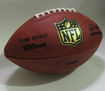 Win a Football Autographed by an NFL Star