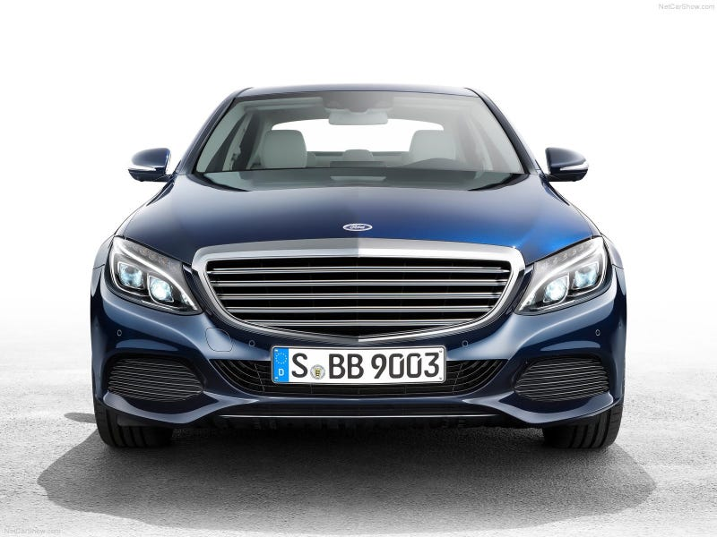 The 2015 Mercedes Benz C Class - Grille Swaps