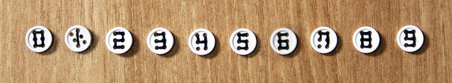 Extra Hole Buttons Let You Spell Out Messages On Your Clothing