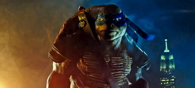 The new Teenage Mutant Ninja Turtles look really gritty and huge now