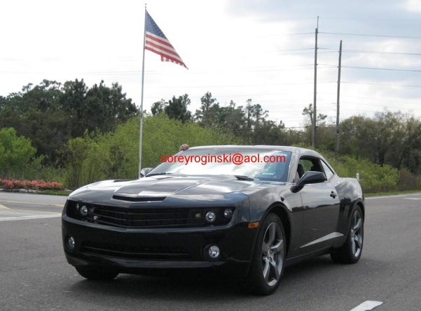 2010 Chevy Camaro Is Better In Black