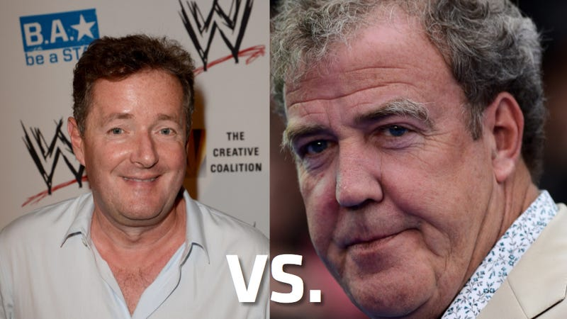 Jeremy Clarkson And Piers Morgan Get In Old Man Twitter Fight, Part II