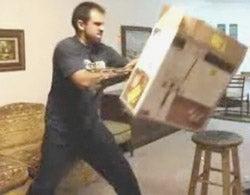 Empty Boxes No Match For Crazy Dangerous Retractable Wolverine Claws