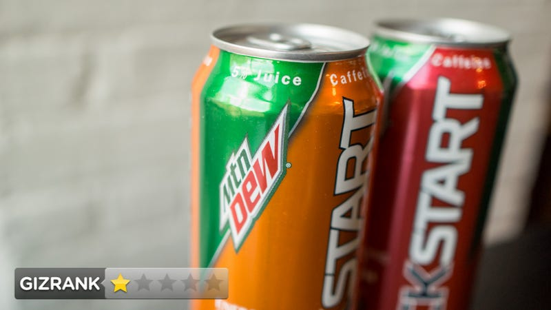 Mountain Dew KickStart: You're Supposed to Drink This for Breakfast