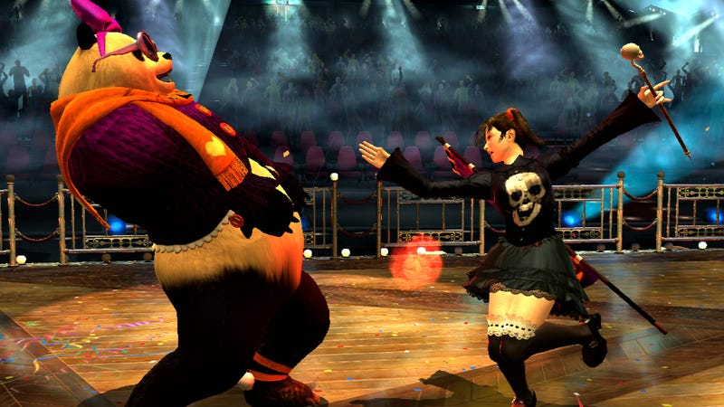 Dress up your Fighter in Tekken Tag Tournament 2