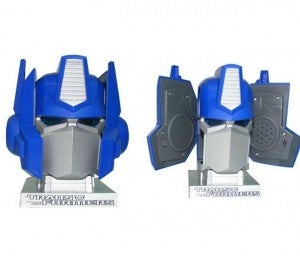 Optimus Prime Speakers Feature Pretty Half-Assed Transforming
