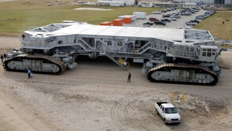Massive Massiveosity, Thy Name is Crawler-Transporter