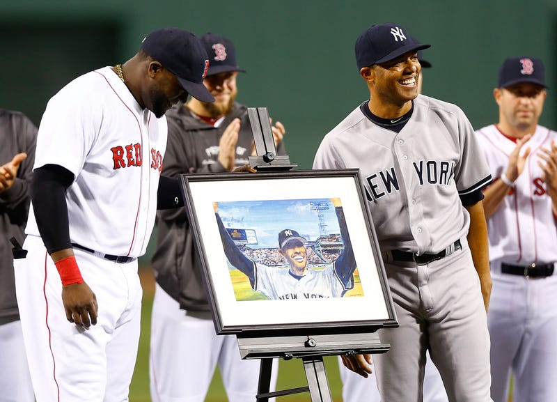 The Red Sox Made Mariano Rivera's Ceremony All About The Red Sox