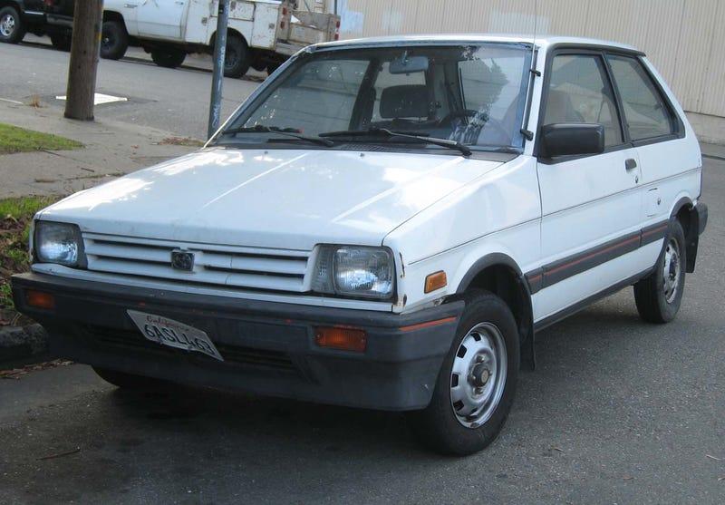 1987 Subaru Justy