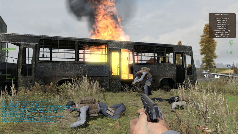 A Party Bus Can Sure Liven Up a Zombie Apocalypse