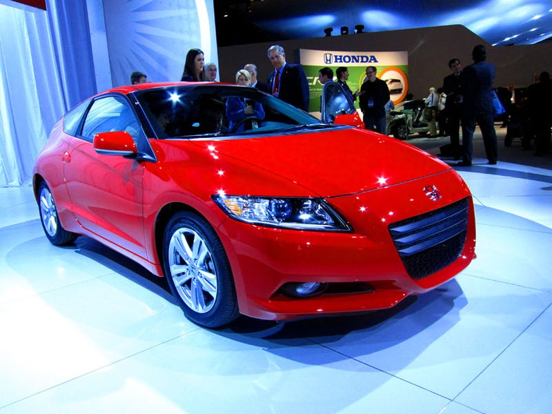 Honda CR-Z: 122 HP, 33 MPG, Worst Of All Worlds