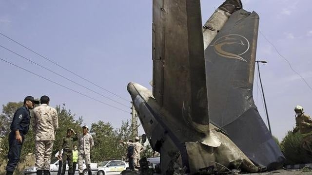 Sepahan Airlines Flight Crashes in Iran, Killing 38 (UPDATED)