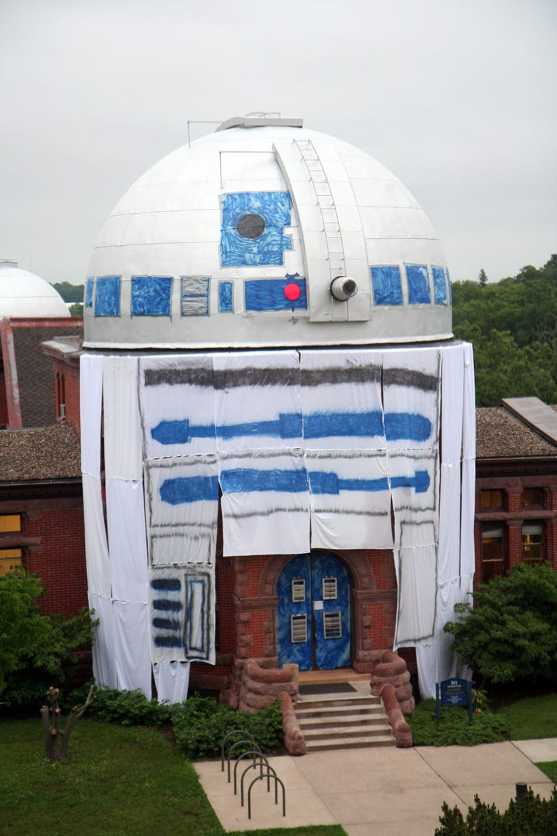 Best astronomy-related college prank ever