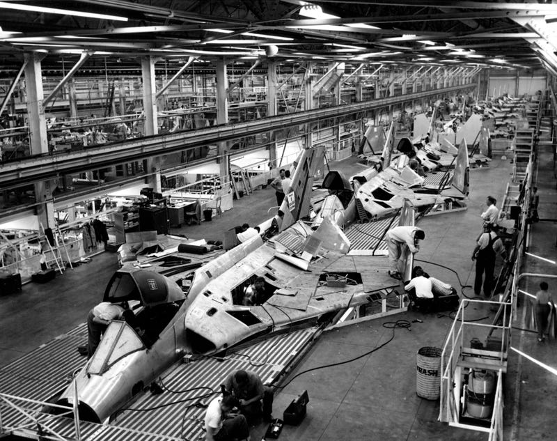 Building It - Military Aircraft Assembly Lines