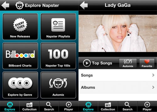 Napster's iPhone App Breaks Cover Despite Their Licensing Fees Concerns