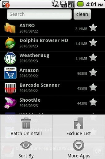 Apps Uninstall Bulk Removes Android Applications