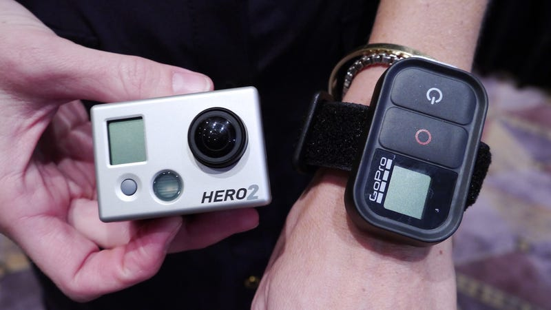 GoPro Straps a Tiny Wi-Fi Backpack To Its Camera so You Can Livestream Your Stupidity