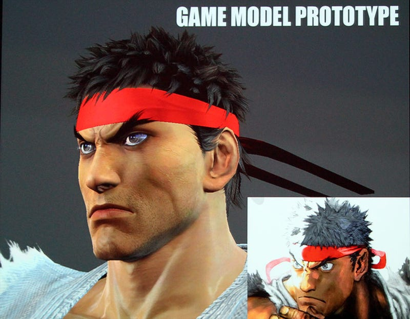 An Early First Look At Tekken X Street Fighter