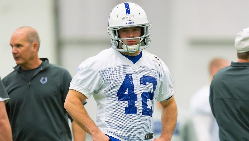 """Guy Who Said """"You Can't Arrest Me, I'm A Colts Player"""" No Longer A Colts Player"""