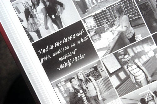 Pennsylvania High School Yearbook Features Lovely Hitler Quote