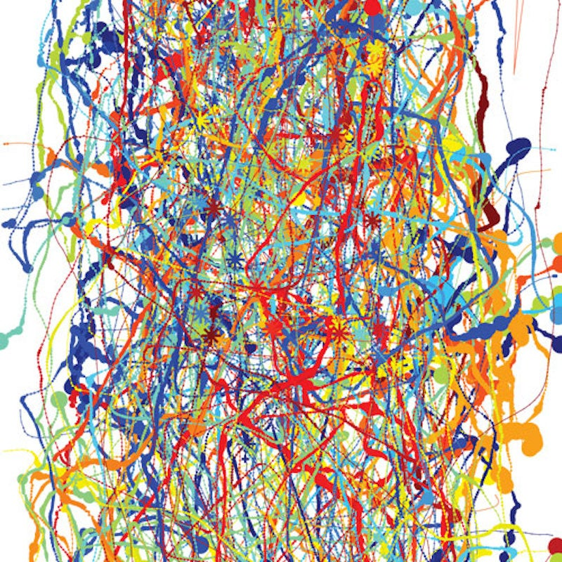 Quick: Is This A Jackson Pollock Painting, or Insect Flight?
