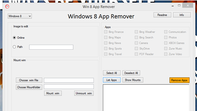 Win 8 App Remover Eliminates Pre-installed Junk Apps from Windows 8