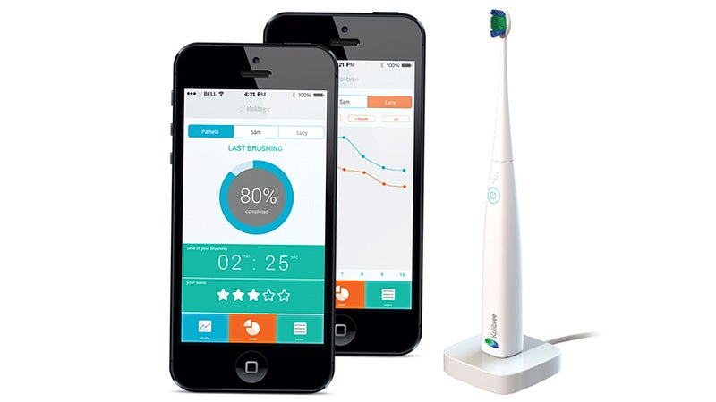 This Connected Bluetooth Toothbrush Will Nag You More Than a Dentist