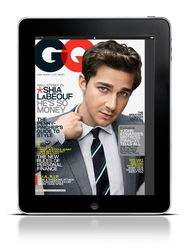 GQ Looks Great on the iPad, Even If You Just Read It For the Pictures