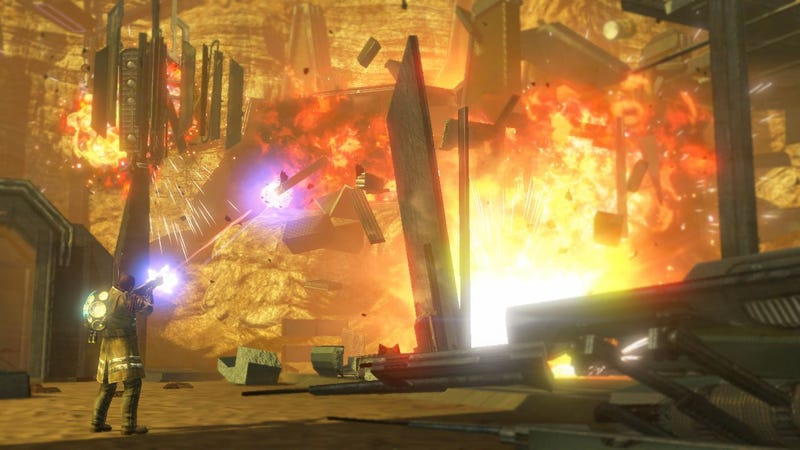 Red Faction Multiplayer Screens — Boom Goes The Dynamite