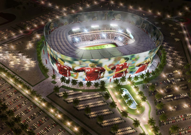 Qatar's 2022 World Cup stadiums: Shining masterpieces of retro-Space Age weirdness