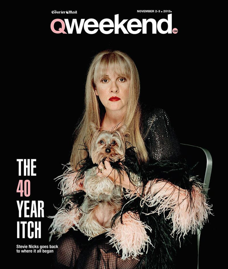 I Can't Stop Staring at This Picture of Stevie Nicks with a Dog Vagina