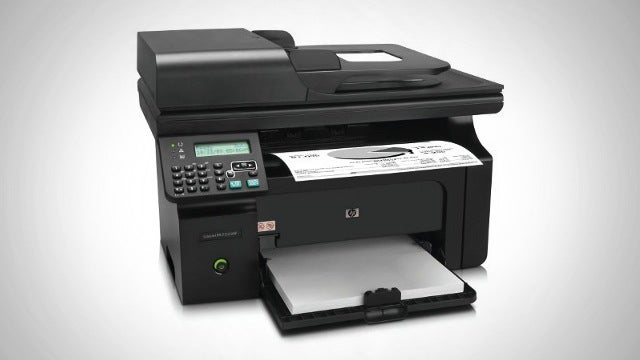 The HP LaserJet Pro M1212nf All-In-One Printer Gives You Great Bang for the Buck