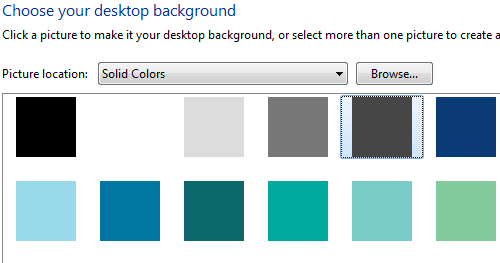 Solid-Color Backgrounds Cause 30-Second Login Delay in Windows 7