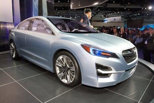 Subaru Impreza Concept: Bigger, Less Furious