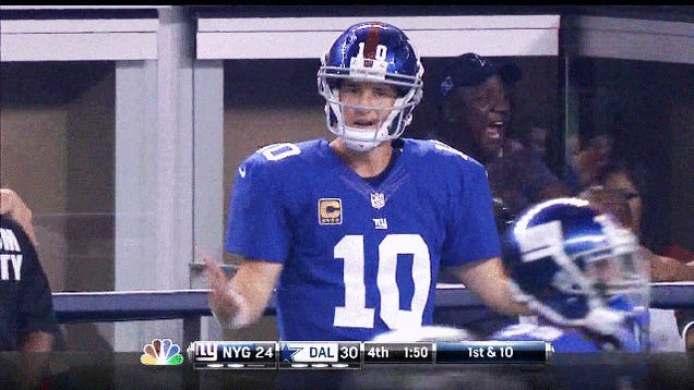 That's Some Grade-A Manningface: Week 1 NFL GIF Roundup