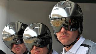 These are McLaren's mechanics