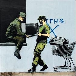 Banksy Sneaking Around Manhattan?