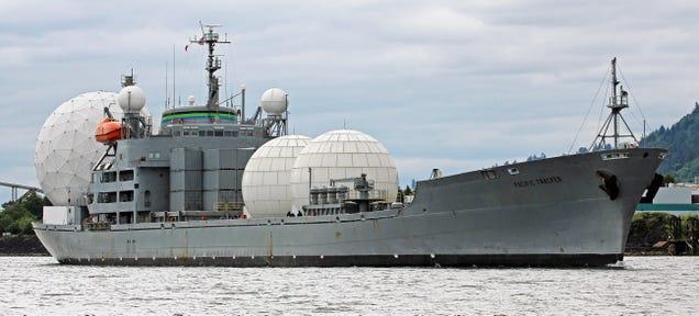 Radar Ships That Make Missile Defense Possible