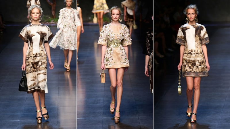 Dolce & Gabbana: For the Golden Goddess in You