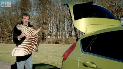 That Top Gear Episode Where Clarkson Tests The New Ford Fiesta